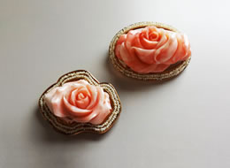 Coral Broach Special Order from Italy
