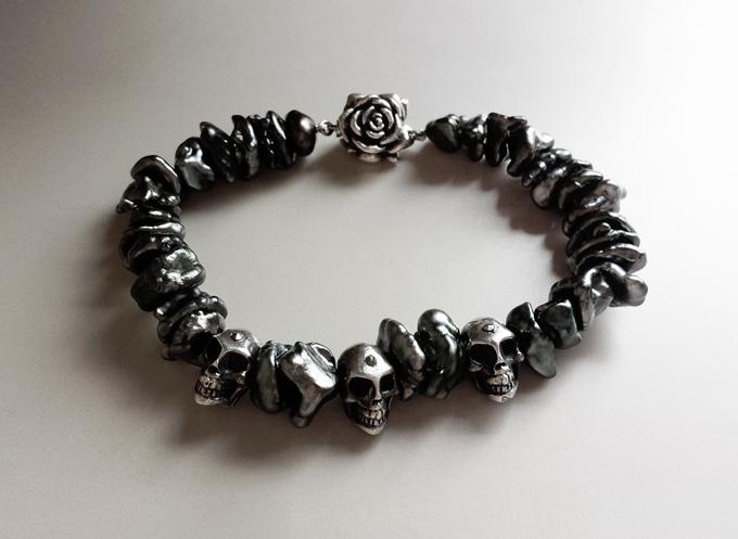Tahiti Keshi Pearl Bracelet