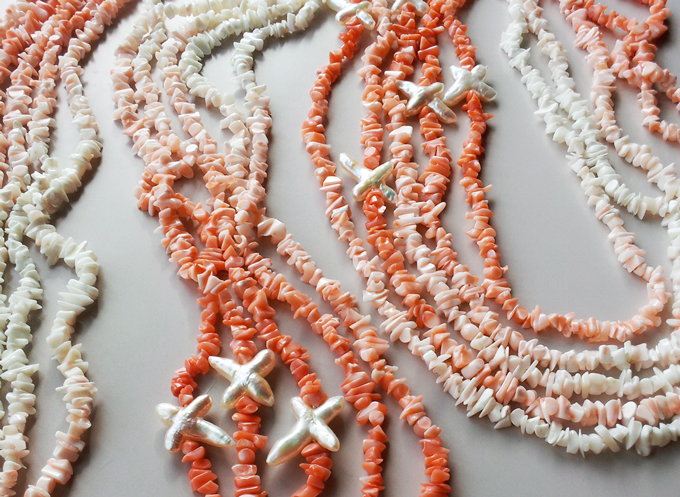 Coral 90cm Endless with Cross