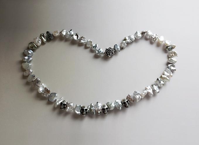 Tahiti Keshi Pearl Necklace